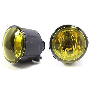 A Pair 80W 3500K Yellow LED Fog Light Bulbs For Nissna Murano 2009-2018