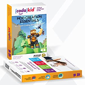 Coding for Kids with Minecraft - Ages 8+ Learn Real Computer Programming  and Code Amazing Minecraft Mods with Java - Award-Winning Online Courses  (PC