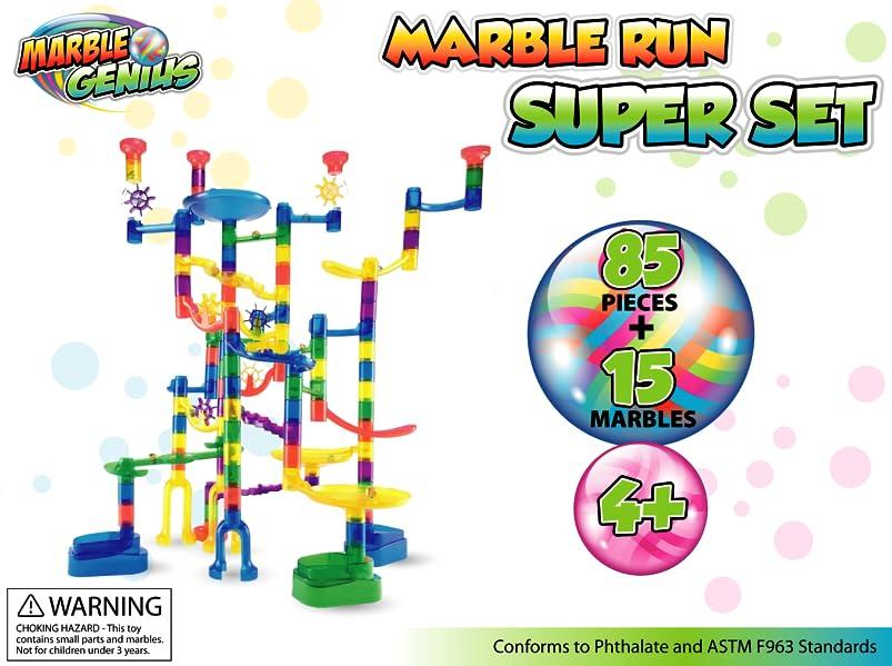 Amazoncom Marble Genius Marble Run Super Set Translucent - 30 genius packaging designs