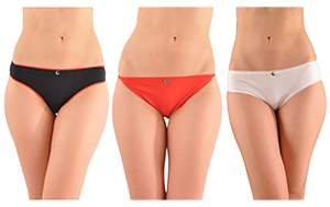 fb4f87dfef5e Shown here from left to right are the Hip Thong Panty, a rarely available  String Thong Panty, and the versatile Bikini Panty. The Kabbaz-Kelly ...