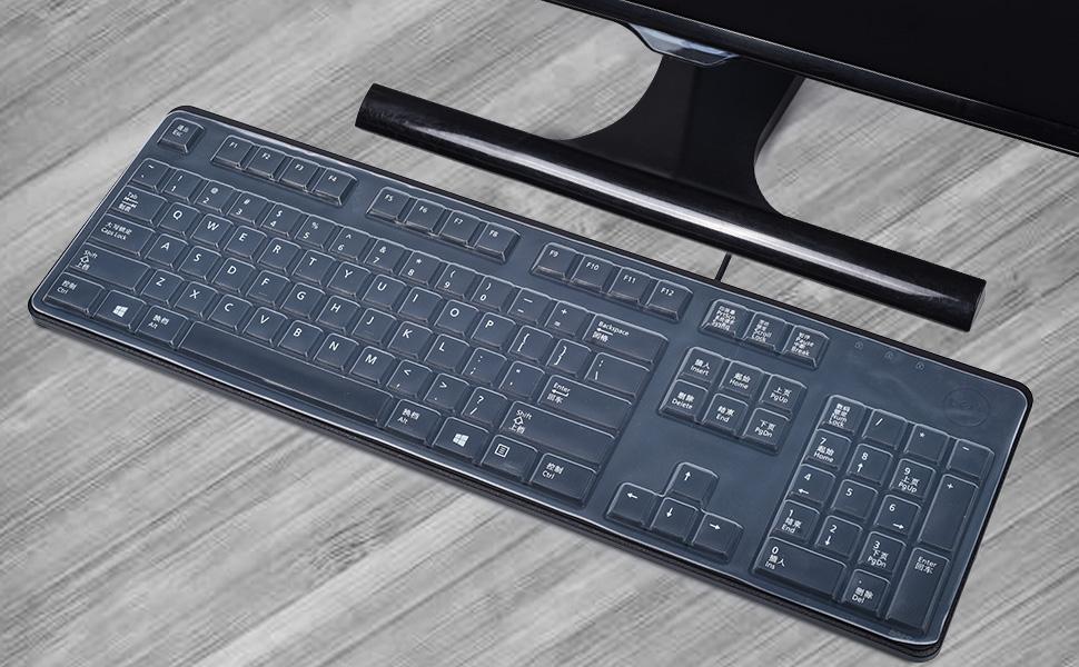 Dell KB212 KB4021 Desktop accessories keyboard protector skin cover for Dell KB212 KB4021