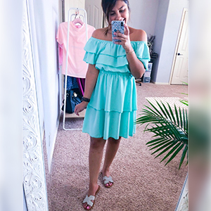 cute dress off shoulder dress lovely dress