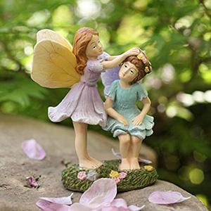 fairy garden fairy sisters