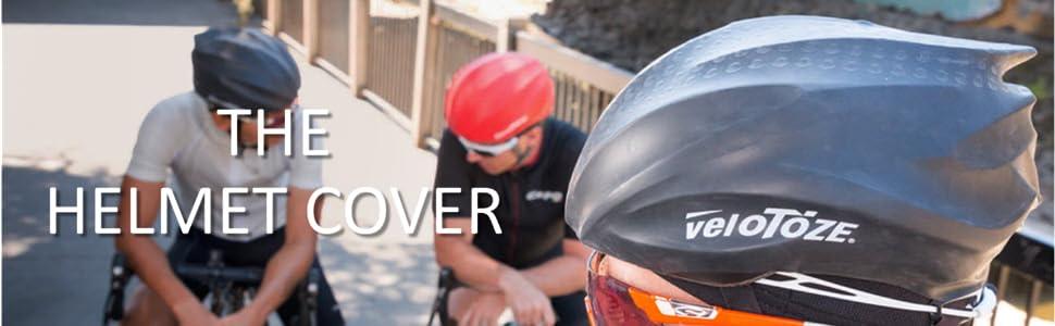 veloToze HELMET COVER Waterproof Cycling Helmet Cover ALL COLORS