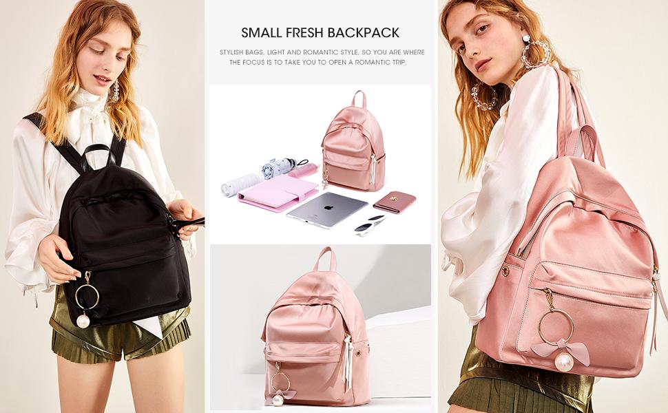 c233e5d0d840 Amazon.com: LA'FESTIN Fashion Shoulder Backpacks with Large Capacity ...