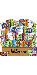 care package snacks candy sweets salty gift box pack variety assortment treats college surprise best