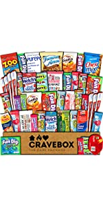 care package snack box snacks variety mix bundle cookies candy chocolate bars boy girl college great