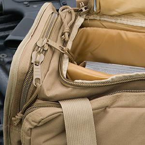 Designed to Carry Tan Osage River Range Bag
