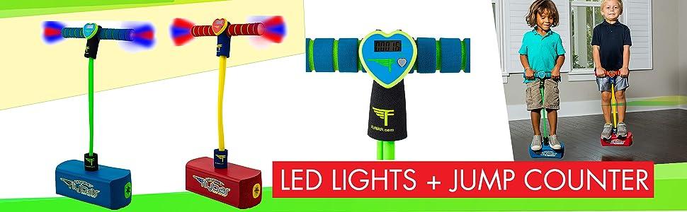 LED Lights & Jump Counter