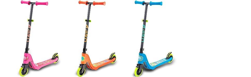 Amazon.com: Flybar Aero - Patinete de 2 ruedas para niños ...