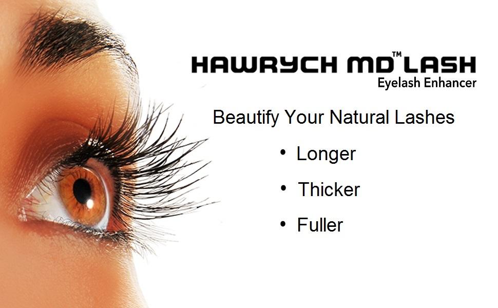 652348b220e Amazon.com: HAWRYCH MD Lash Boost Eyelash Enhancing Serum - Eyelash ...