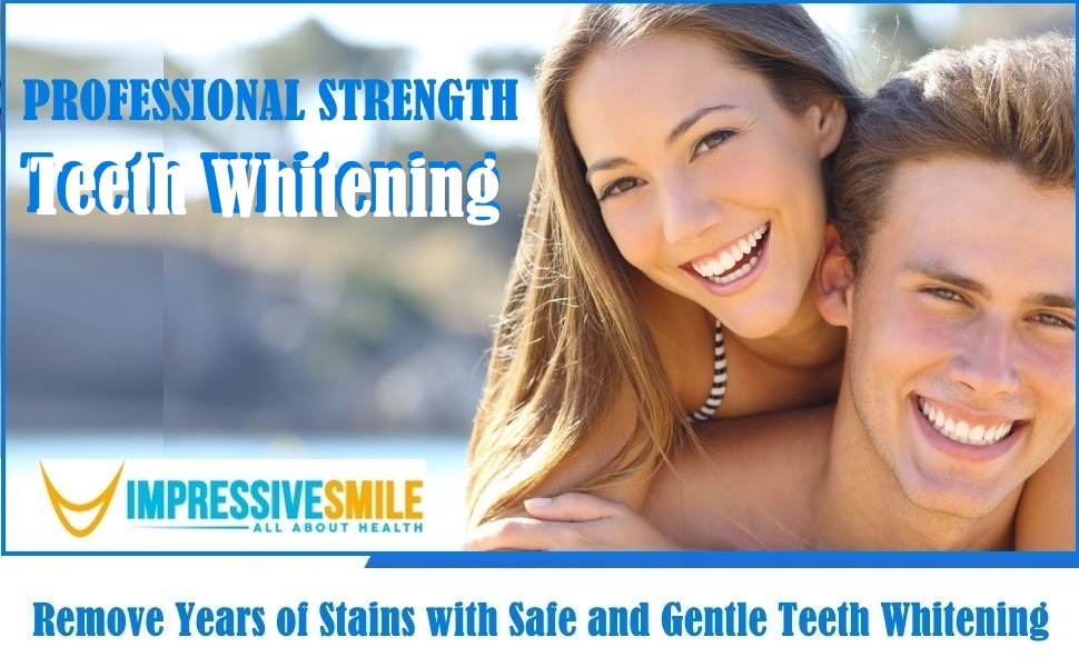 Amazon Com Impressive Bright White Smile Professional Strength