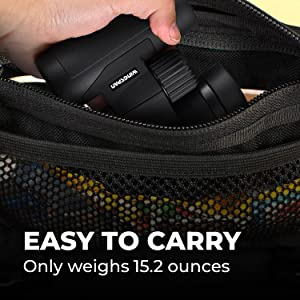portable compact lightweight binoculars monoculars