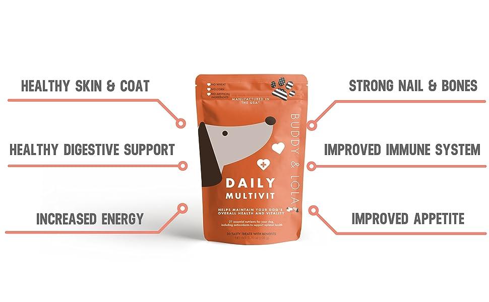 Amazon.com: Advanced Multivitamin Chews – Daily perro ...