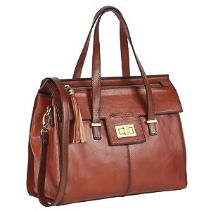 Frugal 5 Color Famous Brand Designer Women Handbag Genuine Leather Tassel Shoulder Crossbody Bags Messenger Ladies Purse Satchel Retro Punctual Timing Shoulder Bags