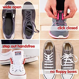 watch preview of outlet store sale Amazon.com: ZUBITS Magnetic Lacing Solution, No Tie easy long ...