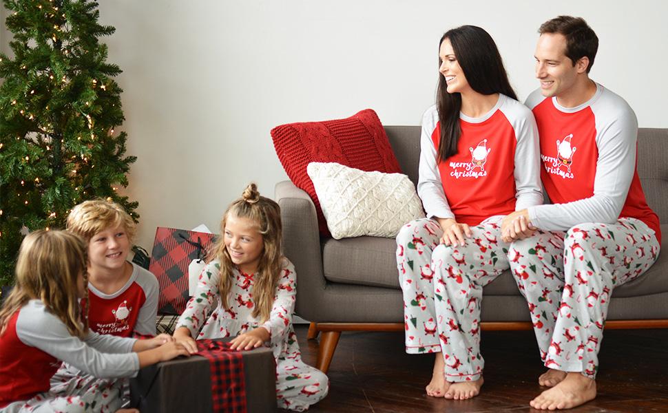 d3ebbb0bdc SleepytimePJs family matching christmas pajamas festive holiday pajamas for  the family fam jams pjs
