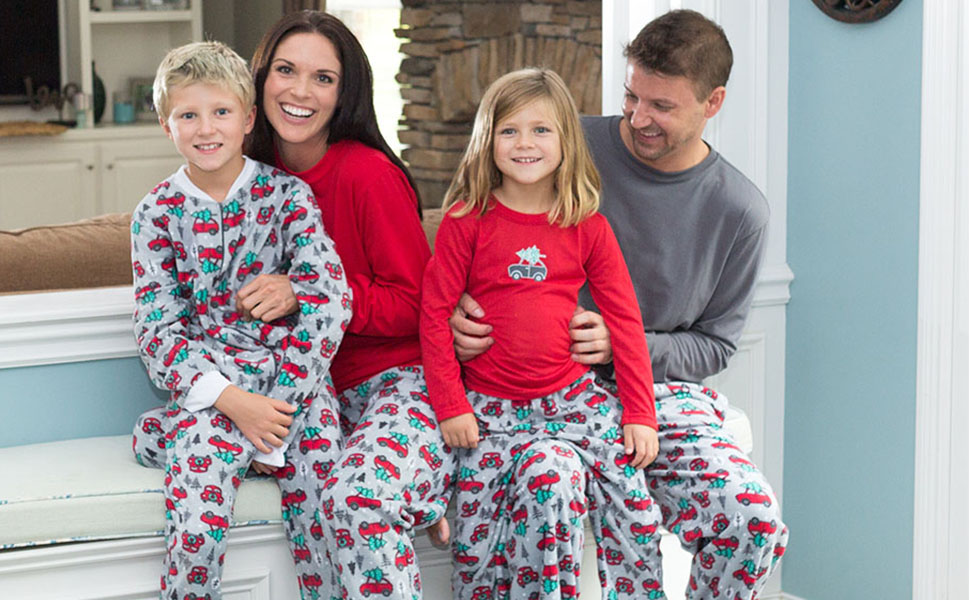 SleepytimePjs family matching Christmas Holiday pajamas bring the entire  family together! Sip on hot chocolate by the fire and pose for your holiday  cards ... 02f6ea1ee