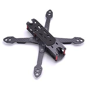 JMT FPV Racing Drone XSR220 220mm Frame Kit 3K Carbon Fiber Frame Kit 4mm Arm