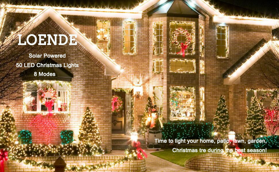 create your magical lighting carnival by solar string lights - Solar Powered Outdoor Christmas Lights