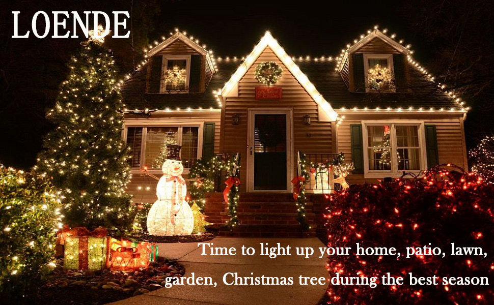 loende is a professional company specialising in loende branded led lights this led string lights not only can be used in indoor only you need so liberate