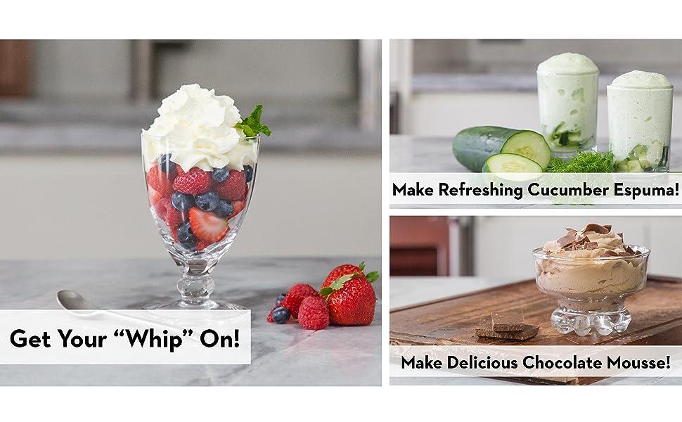 whipped cream, chocolate mousse, foam, espuma, dessert, mousse, whipped cream dispenser