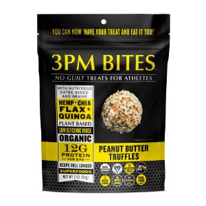 3PM Bites, Organic, Gluten Free, Vegan, Non-GMO, Soy Free, Gluten Free, Peanut Butter, Chocolate