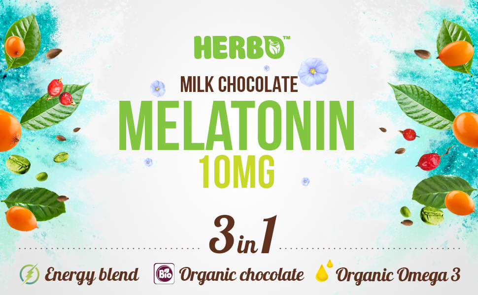 melatonin chocolate sleep 10mg