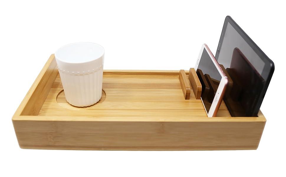 Amazon.com: Kagura Bambú - Estante de cama con forma de ...