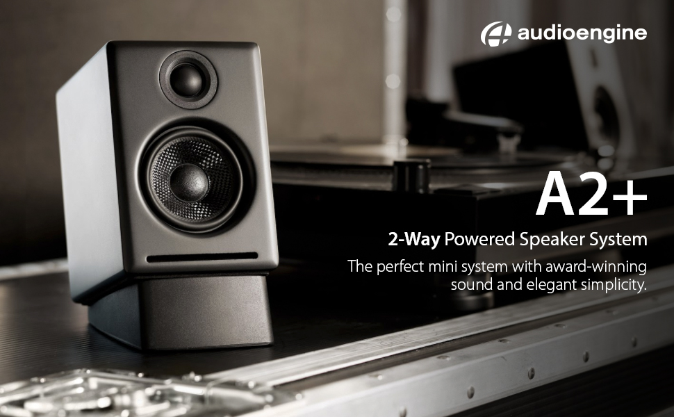 audioengine a2+ how to connect subwoofer