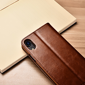 iphone xr case leather wallet
