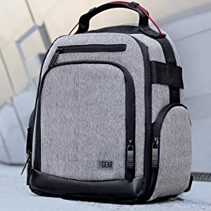 UBK backpack in concrete background