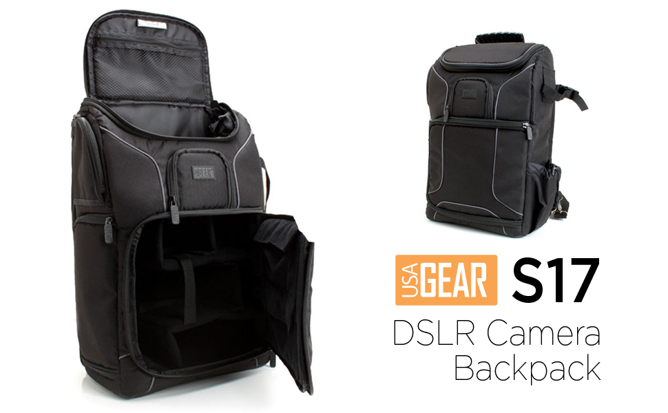 Amazon.com : USA Gear Digital SLR Camera Backpack with Laptop ...