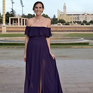 purple gowns and evening dresses off shoulder evening gown cold shoulder wedding dress chiffon dress