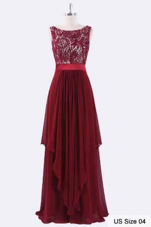 977ace7e882d1 Ever-Pretty Elegant Sleeveless Round Neck Party Evening Dress 08217