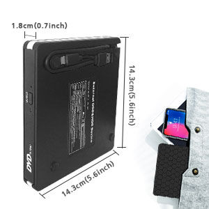 Portable External DVD Burner
