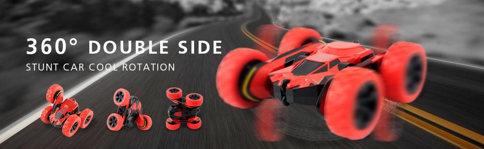 360 Double Side Rotation Stunt Car