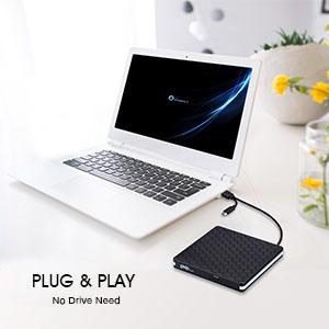 Plug Play CD Burner