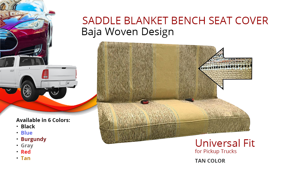 Bench Seat Cover For Pickup Trucks