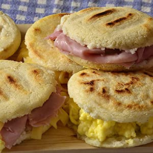 Arepa for Breakfast - instead of English Muffins!