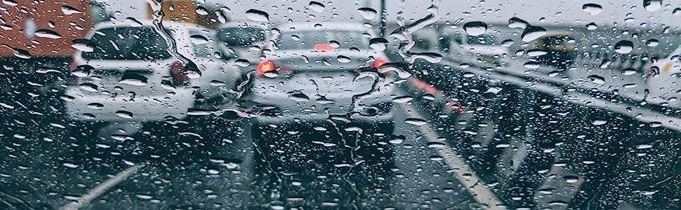 Rain Guard Window Deflector Vent Visor