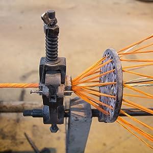 Ravenox Rope Former Orange Twisted Cotton Rope