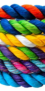 Ravenox Twisted Cotton Rope in Custom Color Combinations