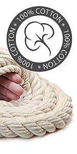 Ravenox 100% Natural Cotton Rope