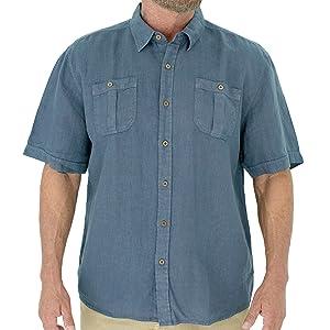 4 Colours Born Rich Men/'s /'Pastore/' Button Neck Slim T-Shirt