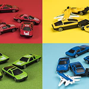 50 color diecast toy cars