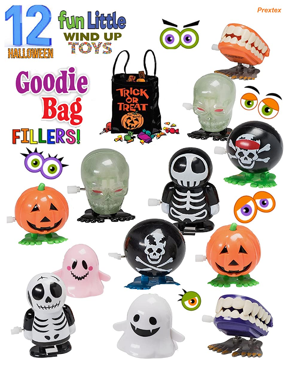 Toys For Halloween : Amazon halloween goody bag wind up toys pack