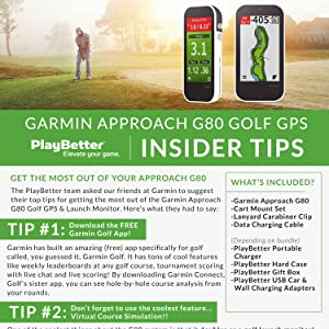 Garmin Approach G80 Insider Tips