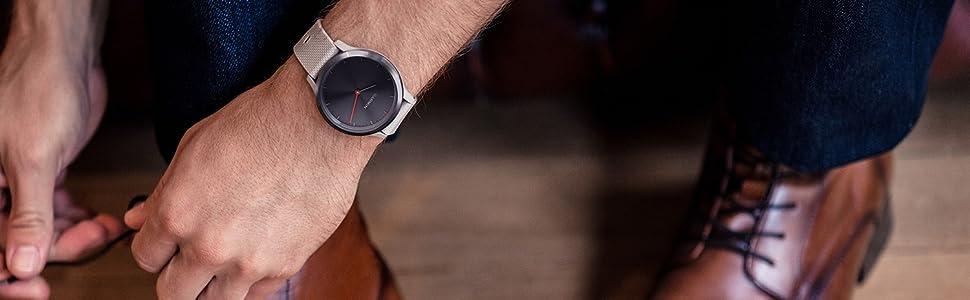 Garmin vivomove HR - Stylish Hybrid Smartwatch