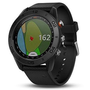 garmin approach s60 golf watch modern sleek gps sunlight-readable touchscreen 41,000 courses
